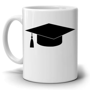 Personalized!! Year To Date Cap Graduation Gifts, Unique Grad Coffee Mug for College Men and Women Graduate, Printed on Both Sides!
