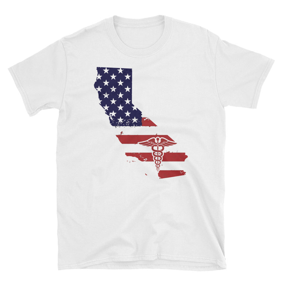 Nurse California State T-Shirt, Unisex