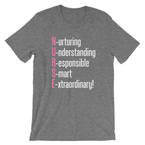 Nurturing Understanding Responsible Smart Extraordinary Nurse T-Shirt