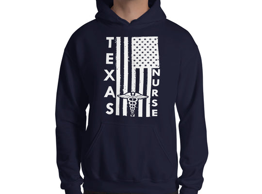 Texas Nurse Hooded Sweatshirt