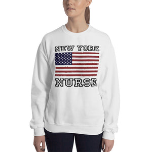 New York Nurse Sweatshirt - Stir Crazy Gifts