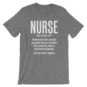 Definition of Nurse Wizard Magician Medical T-Shirt - Stir Crazy Gifts