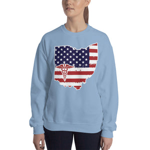 Ohio State Nurse Women's Sweatshirt - Stir Crazy Gifts