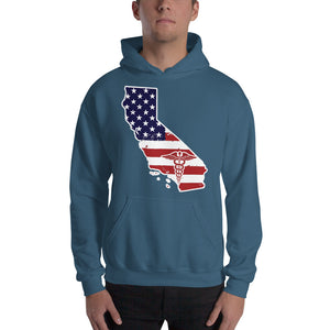 California State Nurse Hooded Sweatshirt (Unisex) - Stir Crazy Gifts