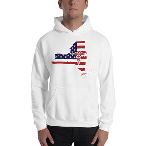 New York State Hooded Sweatshirt - Stir Crazy Gifts