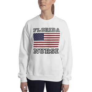 Florida Nurse Women's Sweatshirt - Stir Crazy Gifts