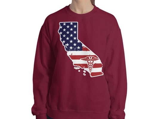 California State Nurse Women's Sweatshirt - Stir Crazy Gifts