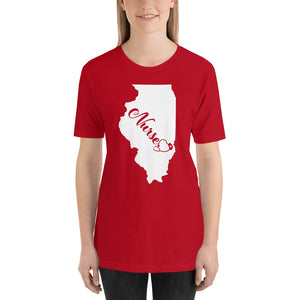 Illinois Nurse State Short-Sleeve Unisex T-Shirt - Stir Crazy Gifts