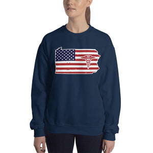 Pennsylvania State Nurse Women's Sweatshirt - Stir Crazy Gifts