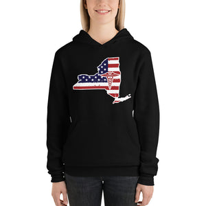 New York State Women's Hoodie - Stir Crazy Gifts