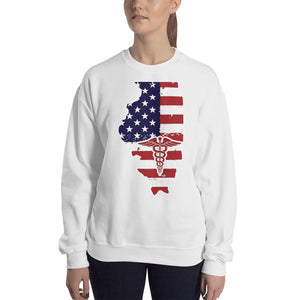 Illinois State Nurse Women's Sweatshirt - Stir Crazy Gifts