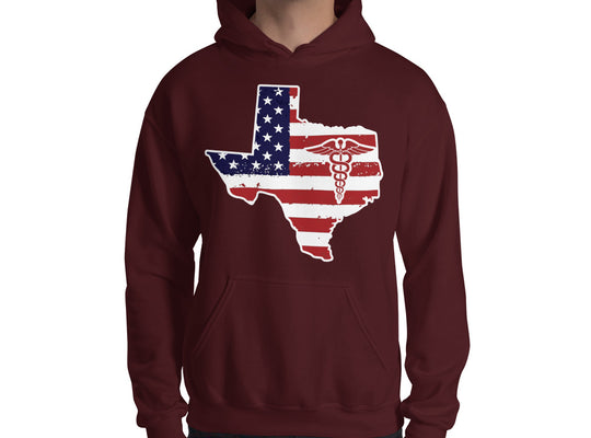 Texas State Nurse Hooded Sweatshirt