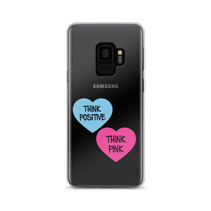 Think Pink Hearts Samsung Case Galaxy S9/S9+