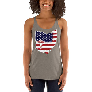 Ohio State Nurse Women's Racerback Tank - Stir Crazy Gifts