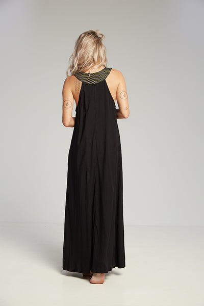 Pompei dress black