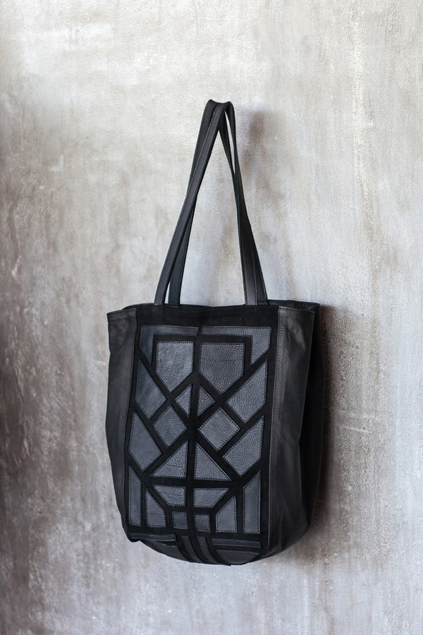 Tote patchwork bag