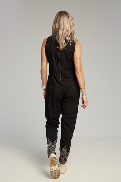 Jade jumpsuit black