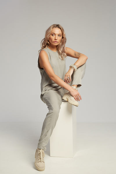 Jade jumpsuit grey