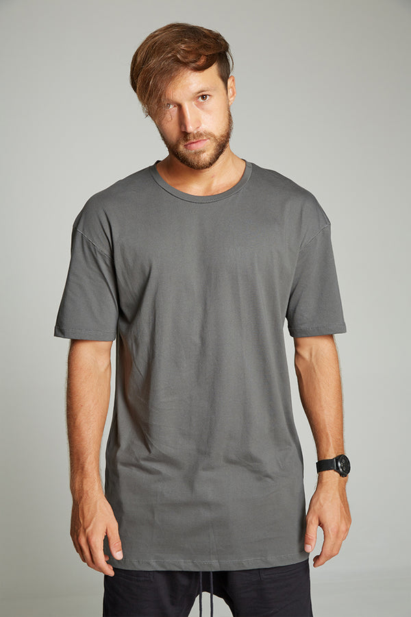Rugby t-shirt charcoal