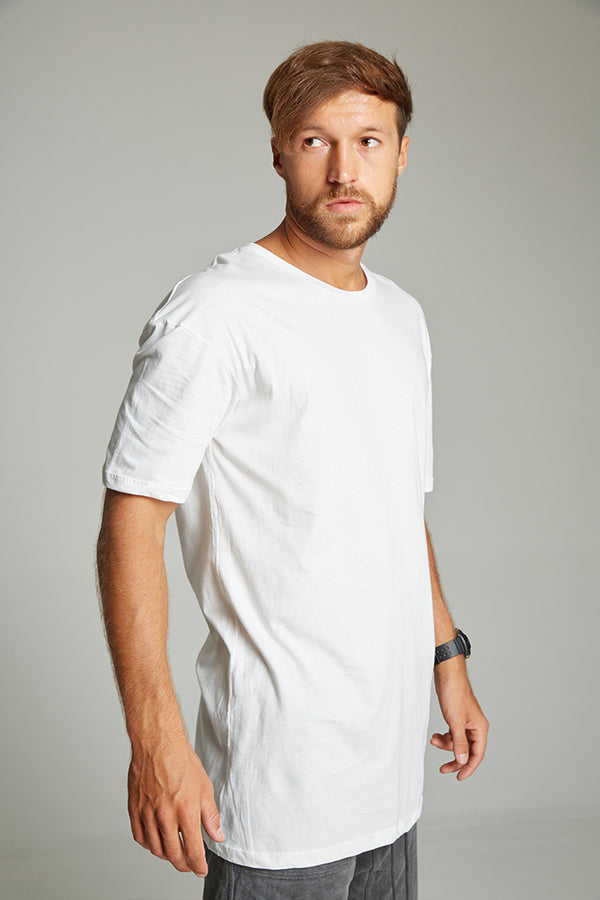 Rugby t-shirt white