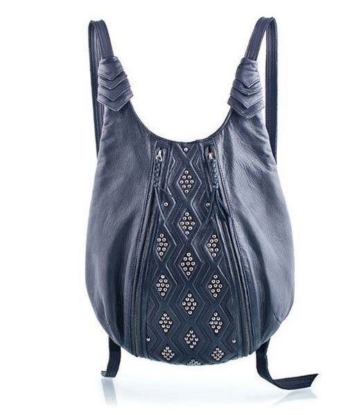 Diamond Backpack Black Front
