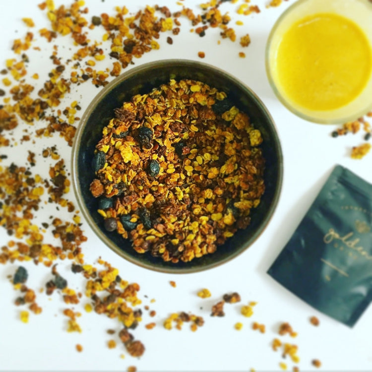 Spiced Golden Granola
