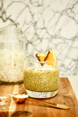 COCO-ORANGE CHIA PUDDING