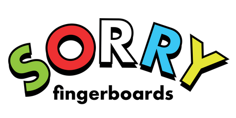 Sorry For Fingerboarding - Sorry decks at Radical Fingerboards Store Australia Worldwide