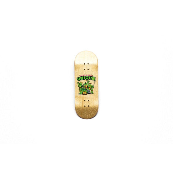 "Unique Decks - ""Ninja Turtle"" Transparent"