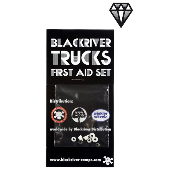 Blackriver Trucks - First Aid Bushings White