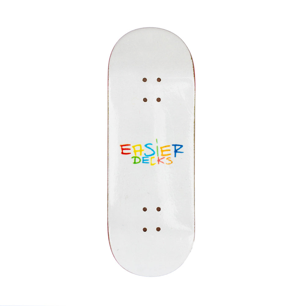 Easier Decks - Logo White 33.5mm