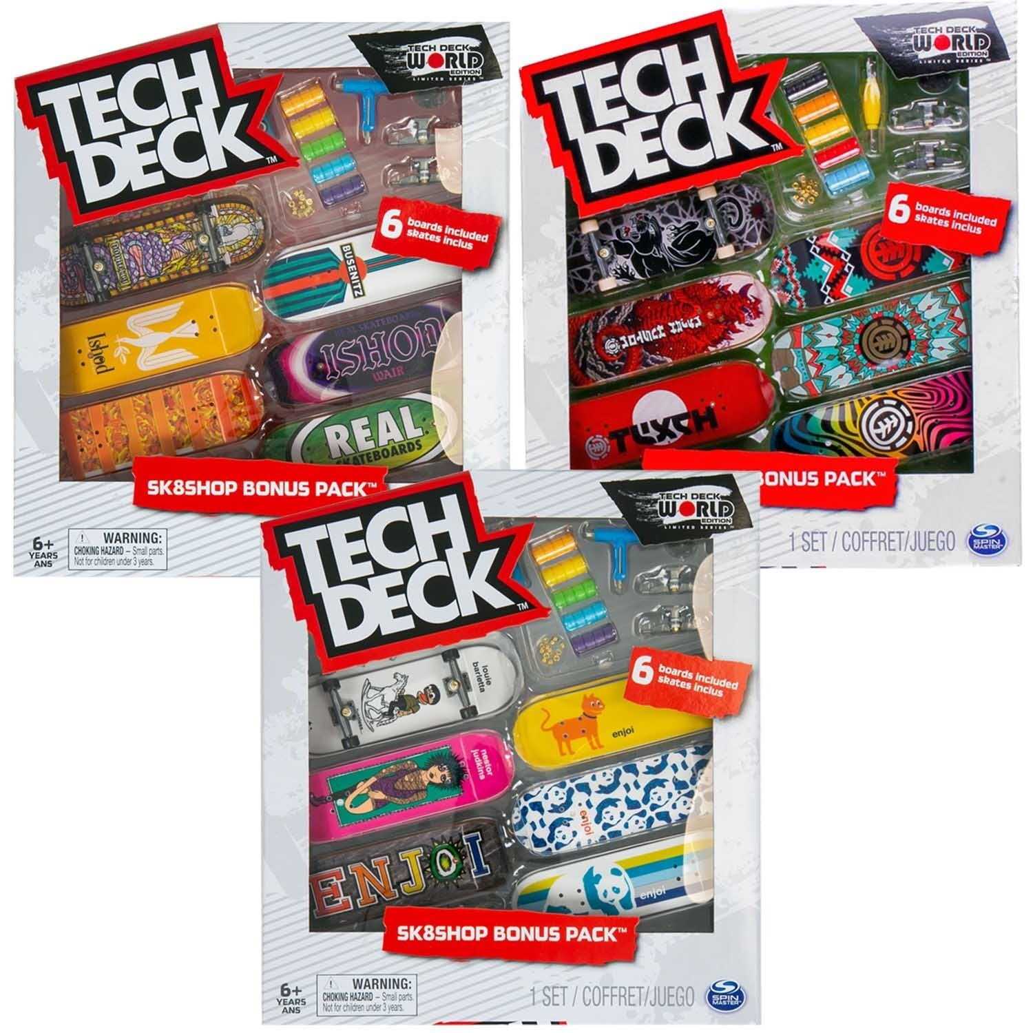 Tech Deck - Skateshop Bonus Pack - Assorted