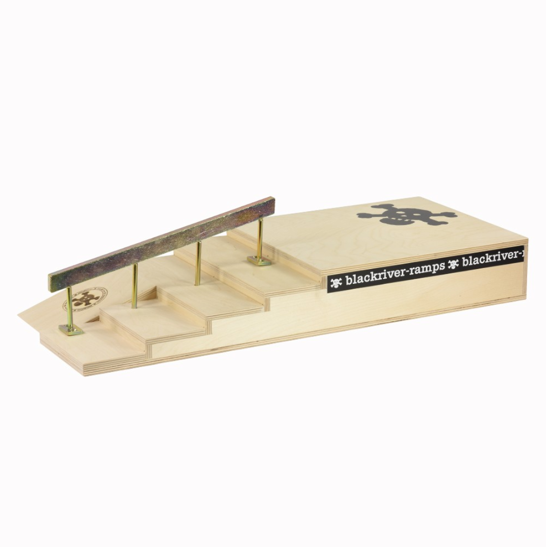 Blackriver ramps - Stairset Square Rail Gold