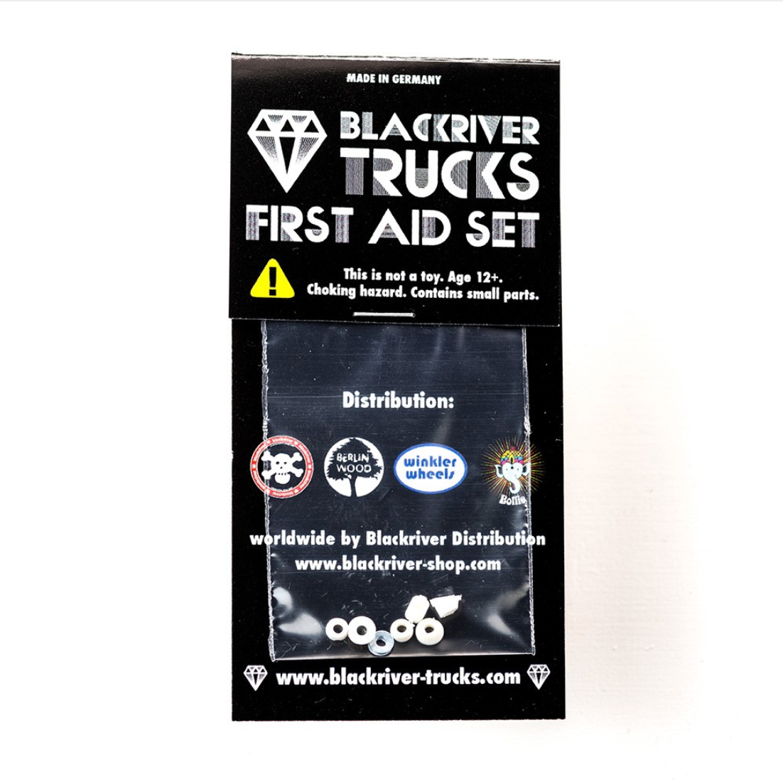 Blackriver Trucks - Bushings White