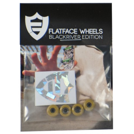 FlatFace Wheels - BRR Gold