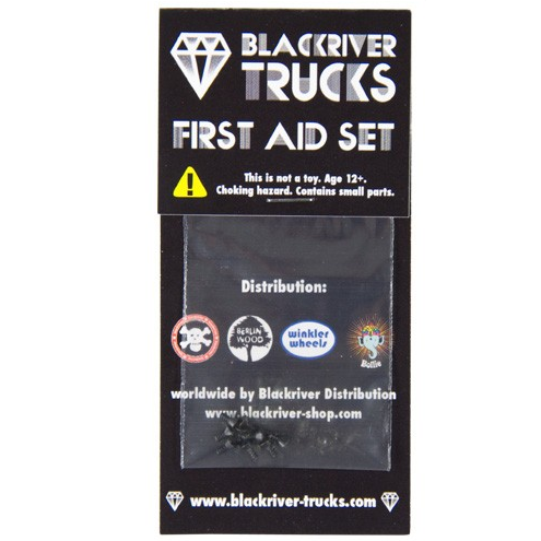 Blackriver Trucks - Screws Black