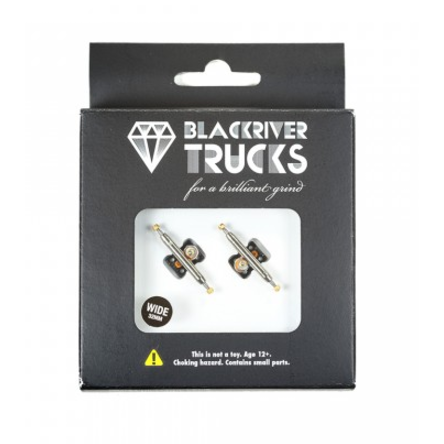 Blackriver Trucks 2.0 - Silver/Black 32mm