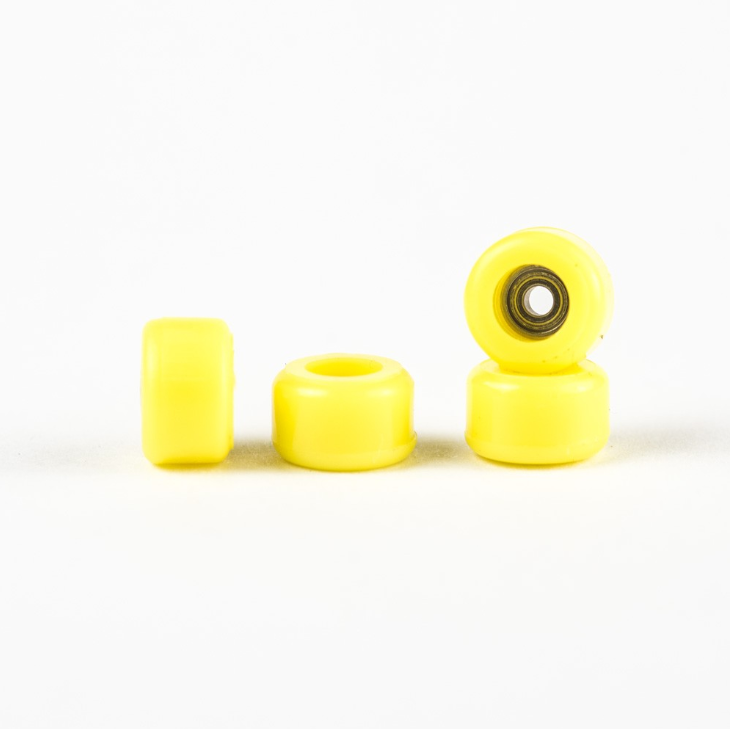 Bollie Bearing Wheels - Yellow