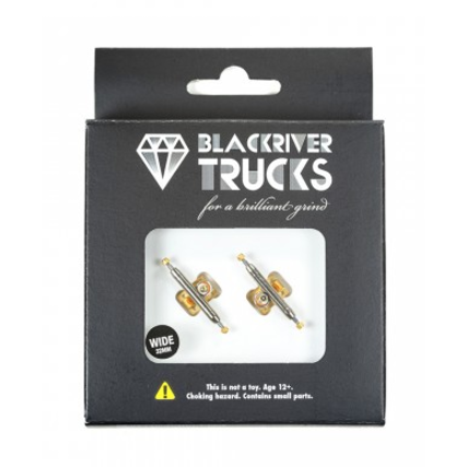 Blackriver Trucks 2.0 - Silver/Gold 32mm