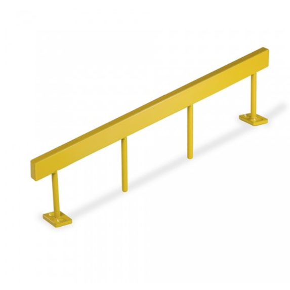 Blackriver ramps - Stairset Rail Square Yellow Single