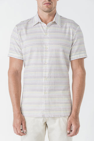 1640 Multi Stripe Dobby S/SL Shirt