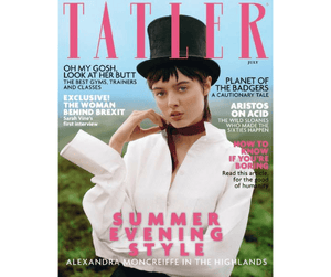 KUDU IN THE JULY ISSUE OF TATLER!