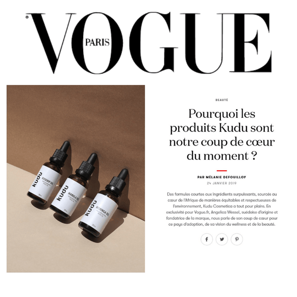 KUDU IN VOGUE PARIS