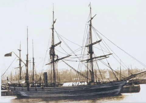 Old whaling vessel