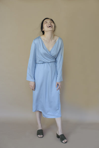 Pursuer Wrap Dress