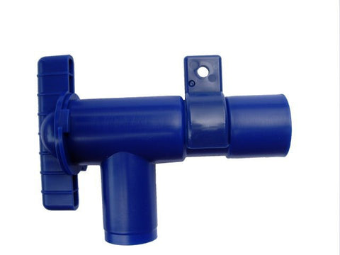 Blue Drain Tap: Fresh Water