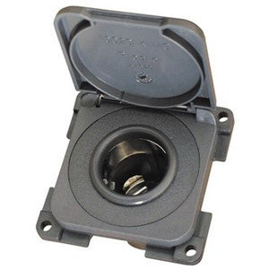 CBE 12V Socket Anthracite with Surround