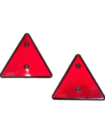 Trailer Triangle Reflector Pair