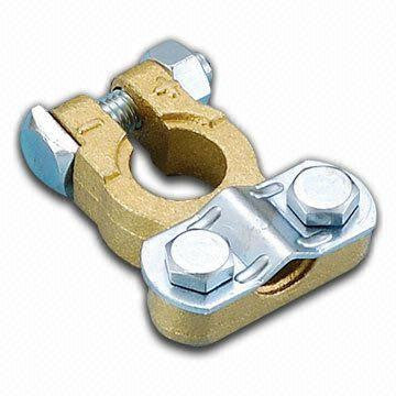 Brass Battery Clamps - Basic