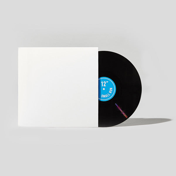 "12"" Cardboard Sleeve - White"